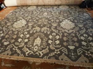 Neutral area rug