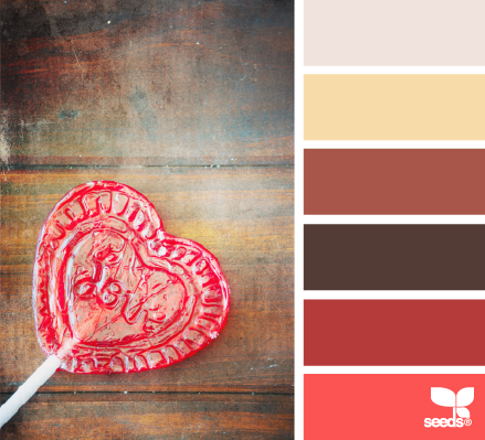 Here's another palette similar to the color scheme I'm using in the Sunroom.