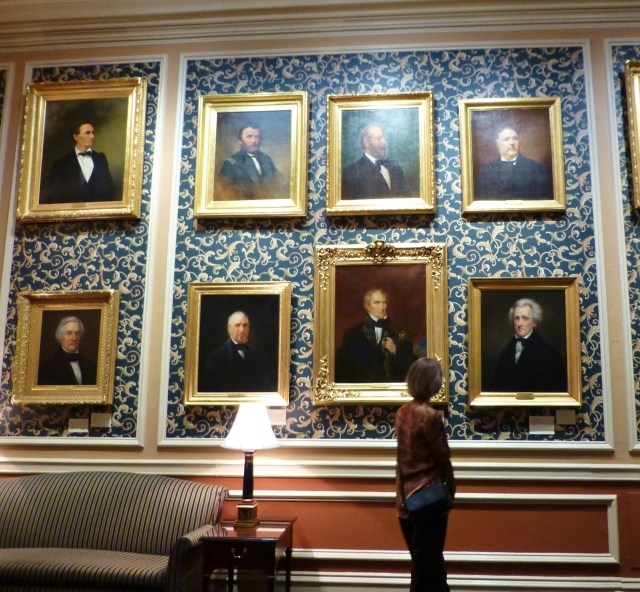 Portraits were commissioned by the Union League of many Republican presidents.