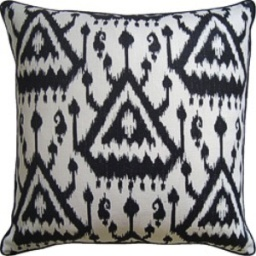 Ryan Studio Pillow - Vientiane - Ebony