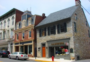 Downtown Bedford has a quaint old-timey feel and lots of shopping opportunities!