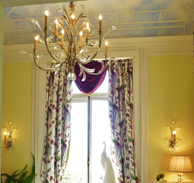 Aren't these chandelier and sconces just amazing?