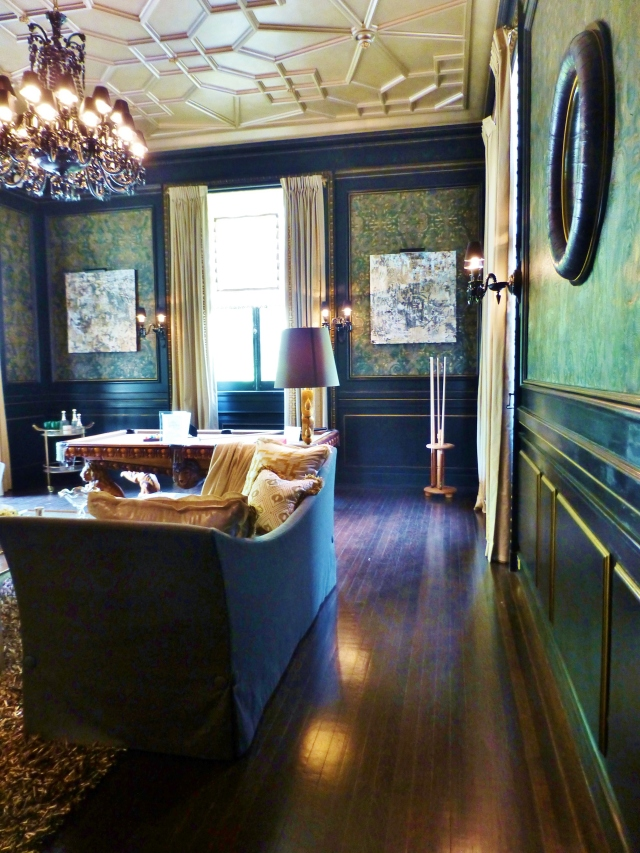 Mansion In May The Billiard Room And Gentleman S Wash