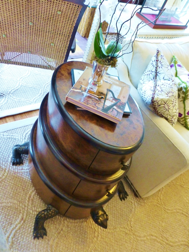 Here's another view of the Turtle Table.  Isn't is adorable?