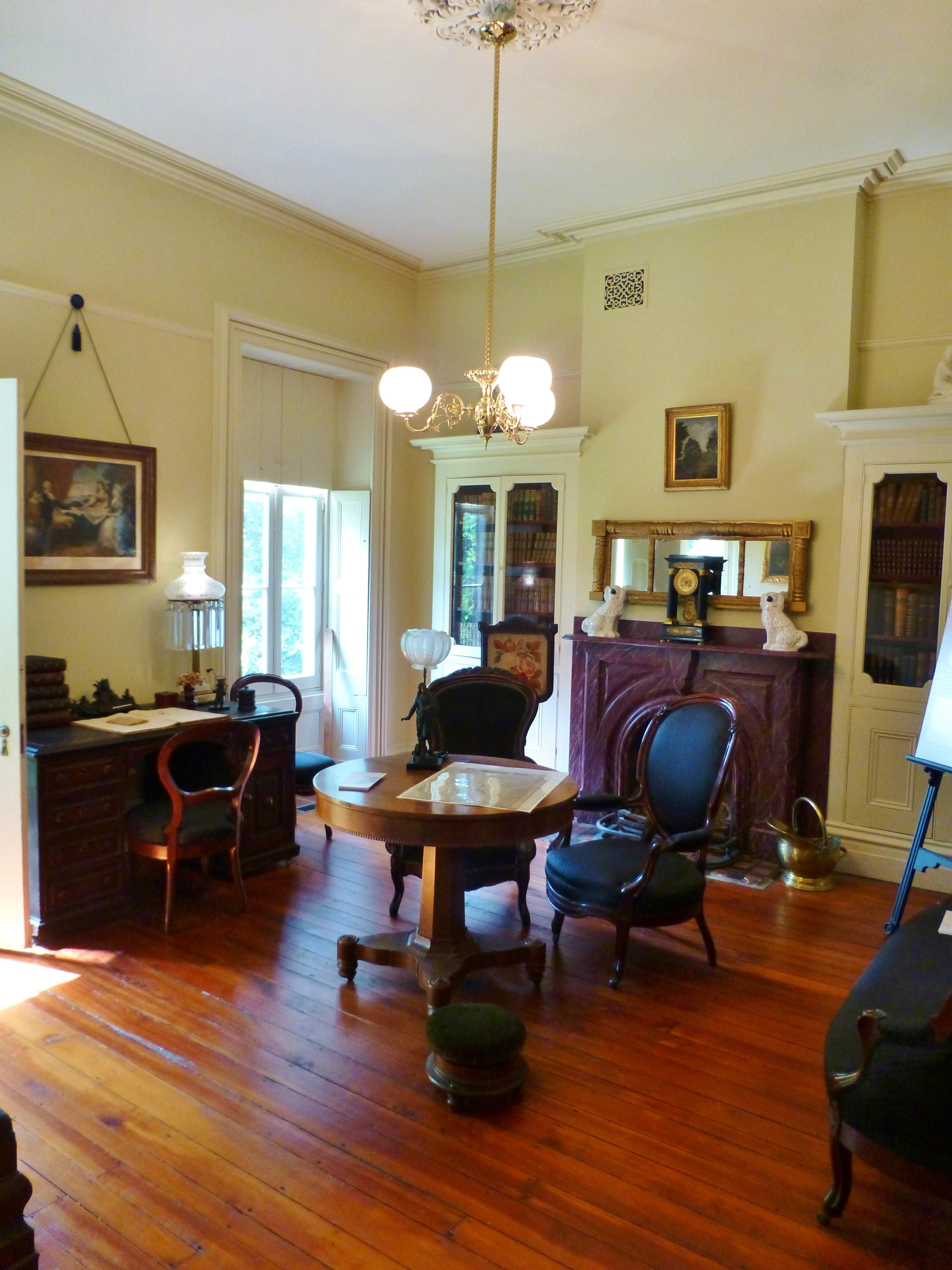 Victorian Interiors Ebenezer Maxwell Mansion Part 2