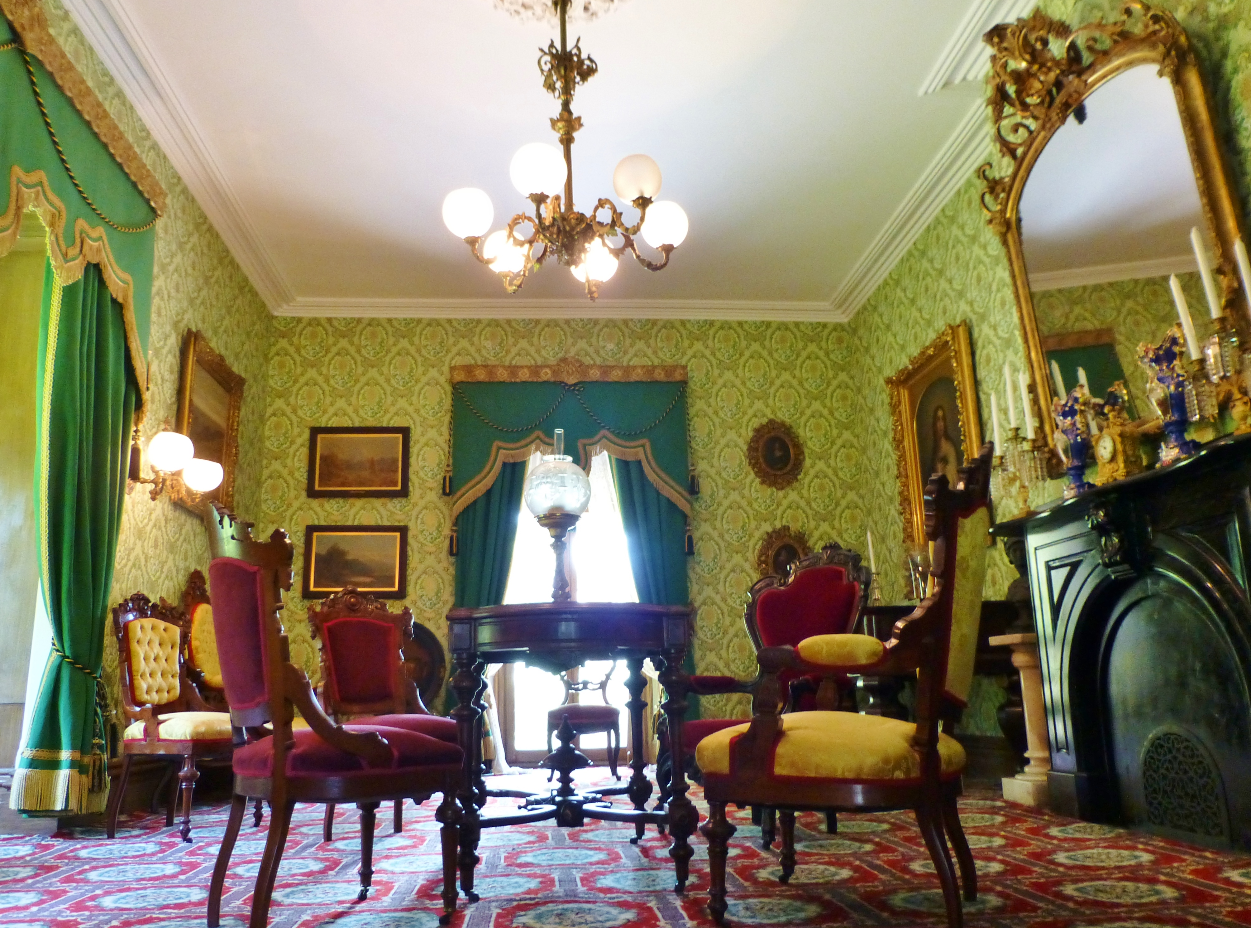 Victorian Interiors Ebenezer Maxwell Mansion Part 1 The