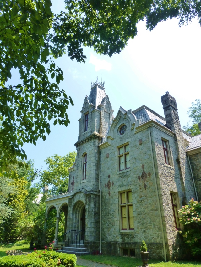 The Ebenezer Maxwell Mansion, a fine example of Victorian Gothic and Second Empire design.