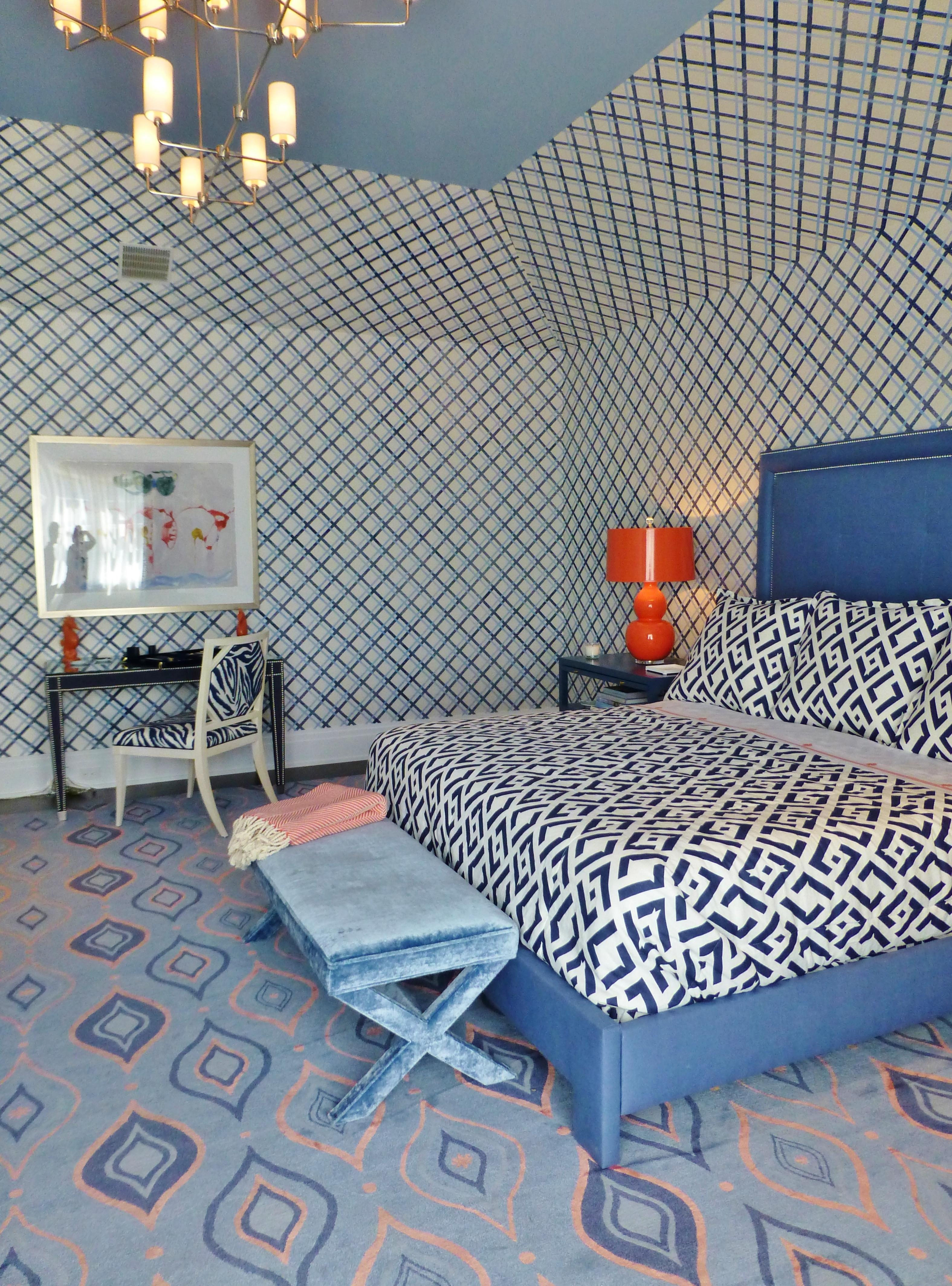 The 2014 Hampton Designer Showhouse Blue Amp Orange Guest