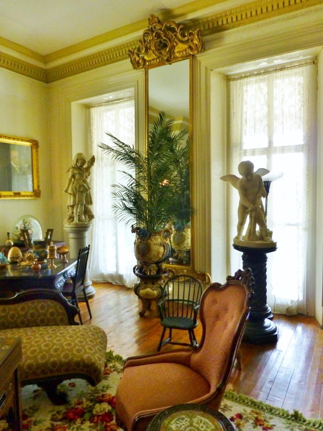 Unlike most house museums, the priceless objects at the Ryerss Mansion are on display in a somewhat random manner.