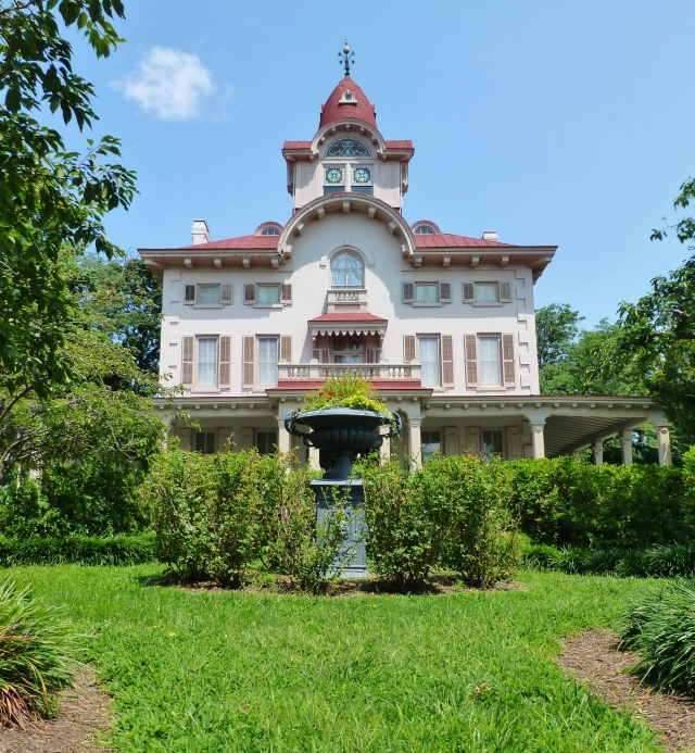 This opulent summer retreat was built on 85 acres of land in 1859 by Joseph Waln Ryerss.  He was a descendant of one of the original Pennsylvania settlers to come to Philadelphia with William Penn in 1682.