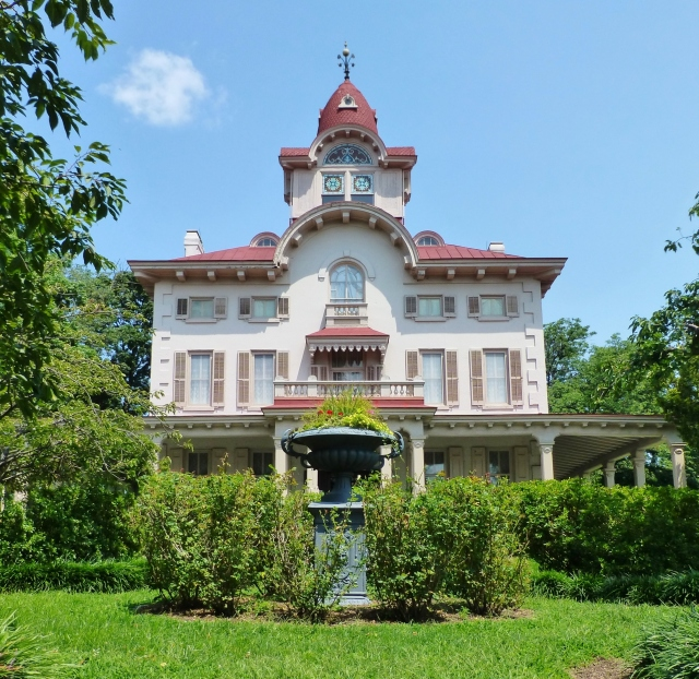 The Ryerss Museum & Library was opened to the public in 1910 under the administration of the Fairmount Park Commission.  The front entrance is currently not used by the public and visitors must enter through a side entrance.