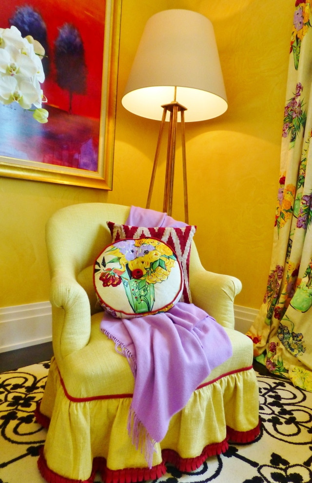 2014 Hampton Designer Showhouse Colorful Exuberant