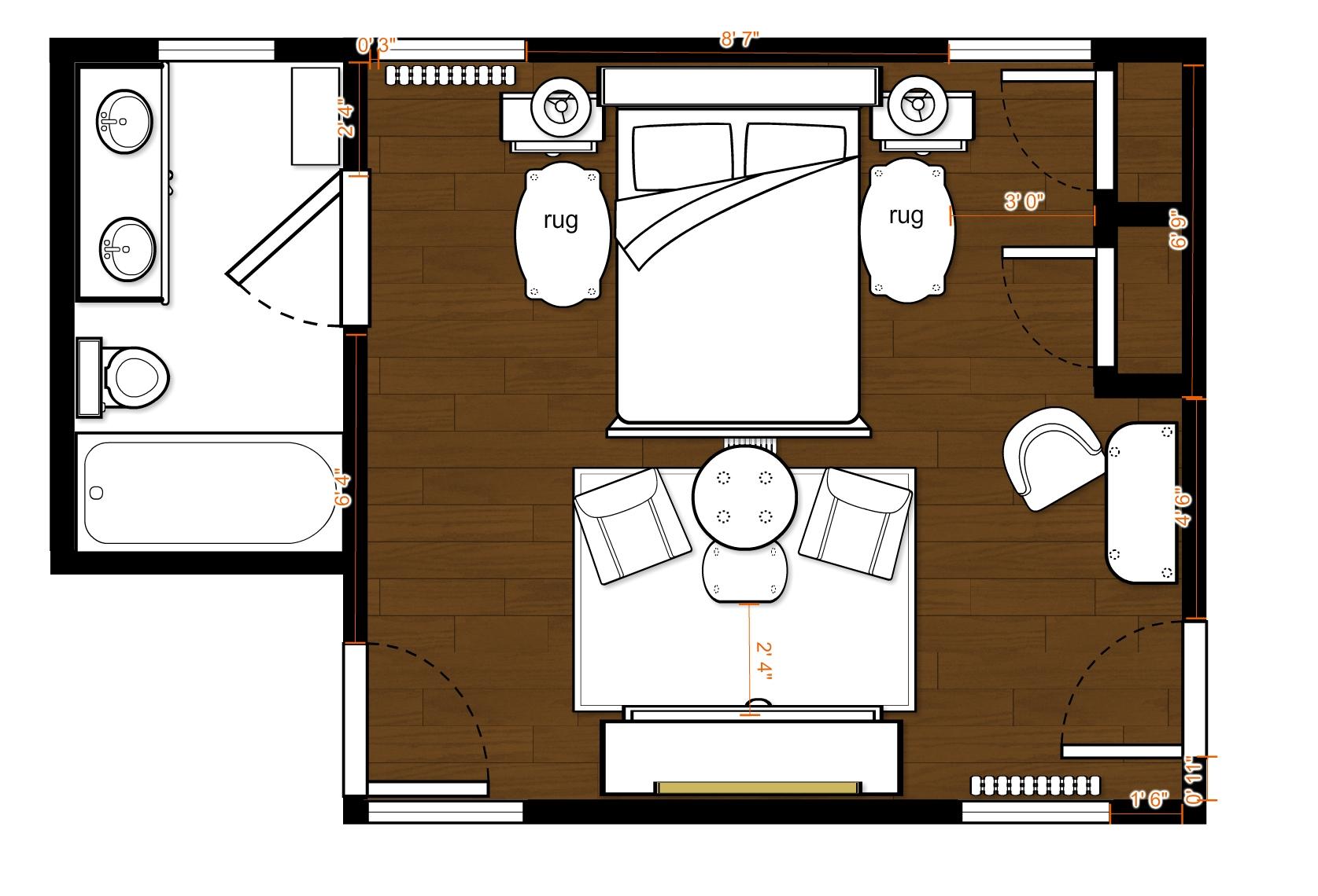 2016 bucks county designer house garden bedroom the for Floor plan holder