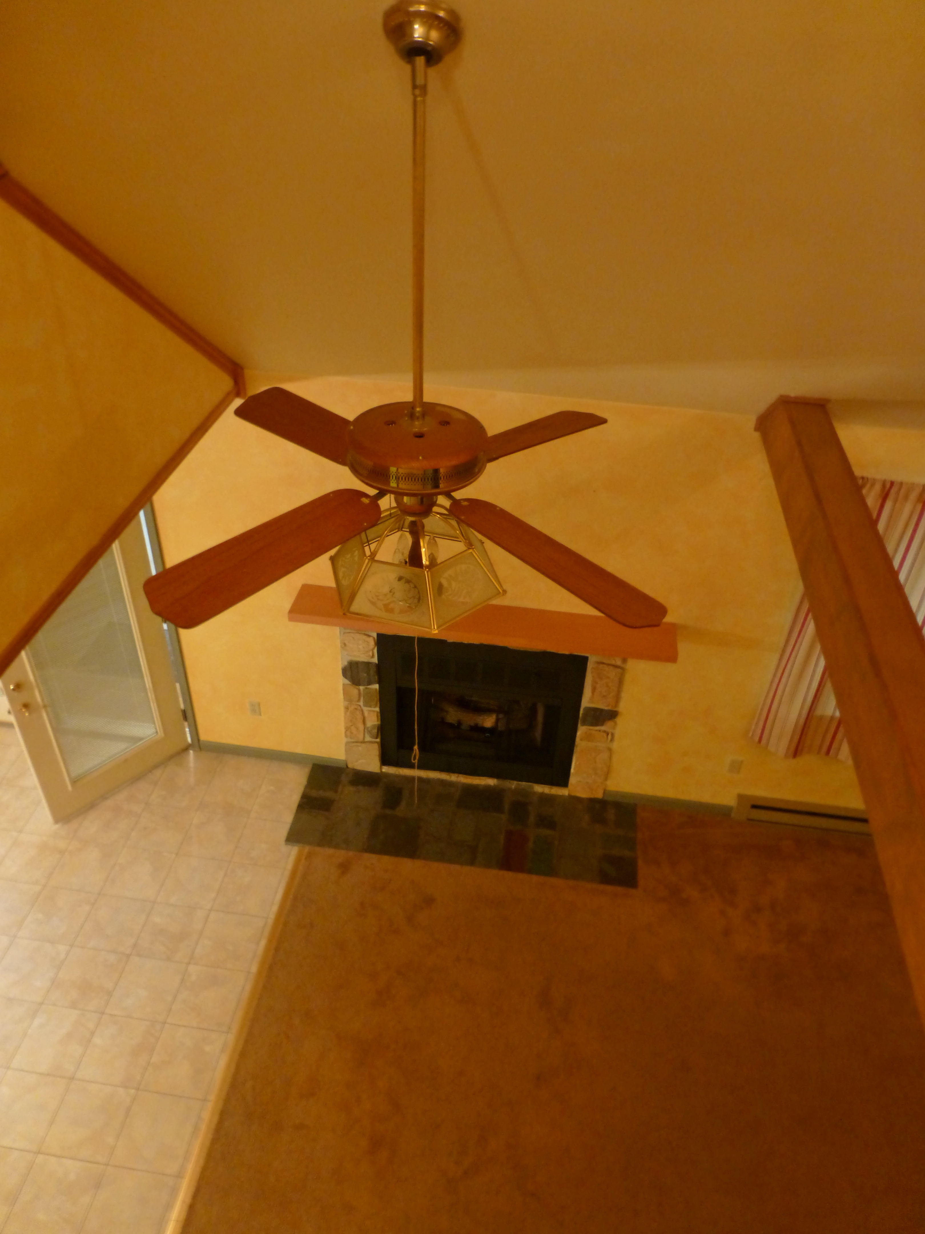 In Addition, It Provides General Lighting For The Main Living Area.  Unfortunately, The Style Of Light Fixture On This Old Ceiling Fan ...