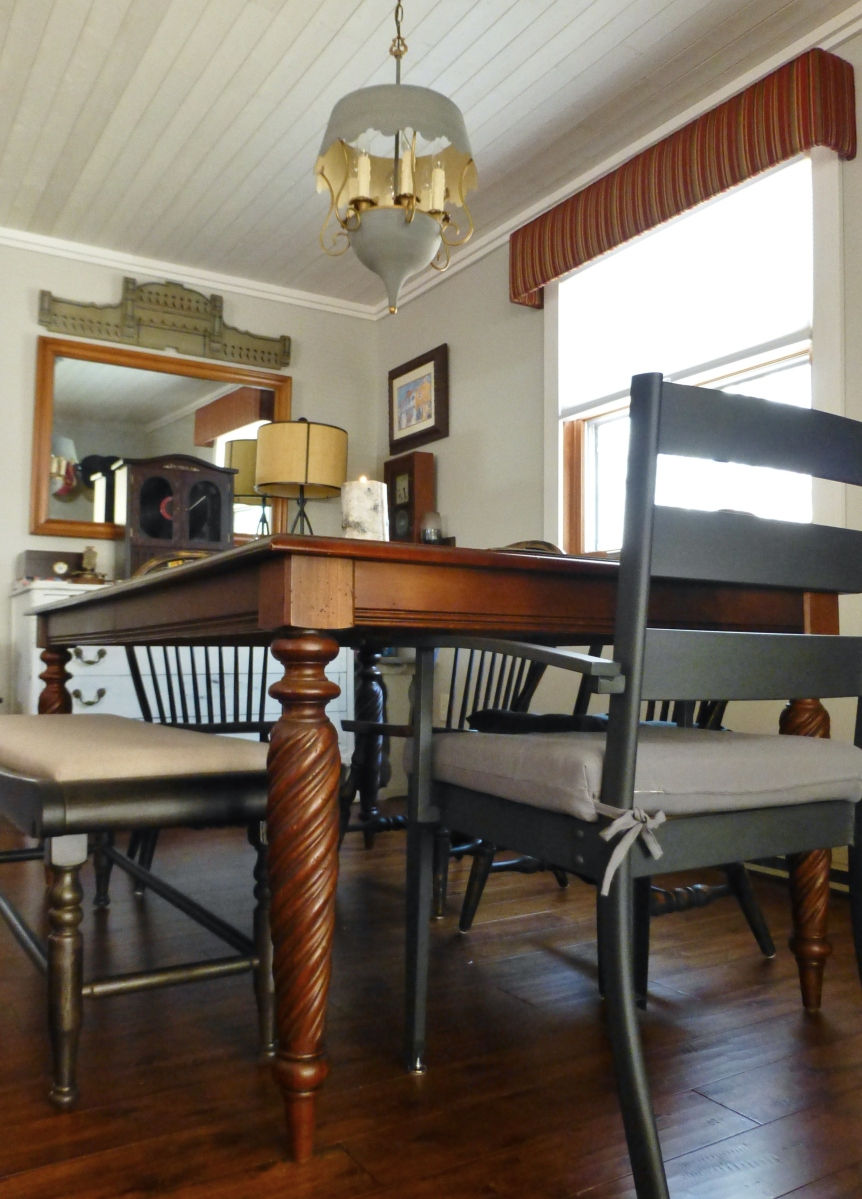 Ethan Allen Livingston Dining Table The Shack Our Little Poconos Getaway And The Dining Table Post