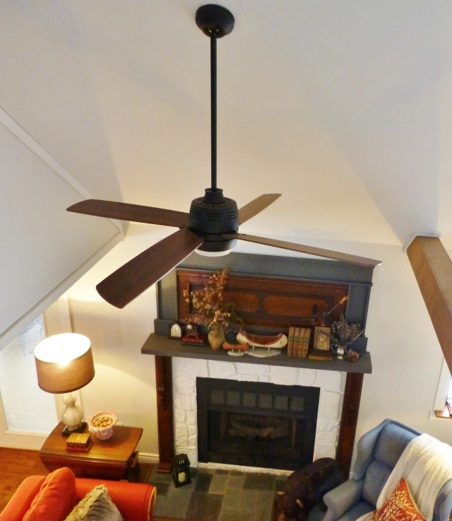 Ceiling Fan at The Shack