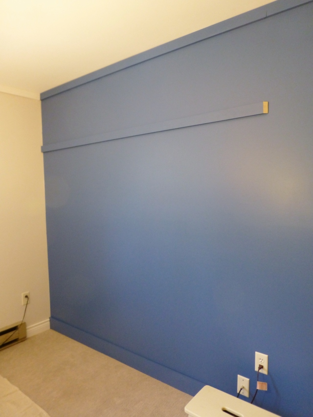 Installing Board and Batten Accent Wall at The Shack Horizontal