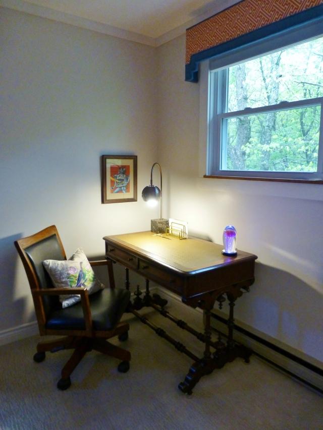 Teen Boys Bedroom at The Shack Desk Corner