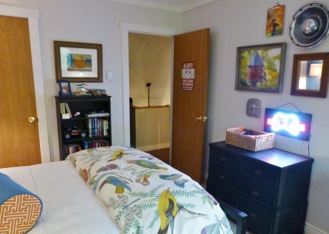 Teen Boys Bedroom at The Shack Entry Door