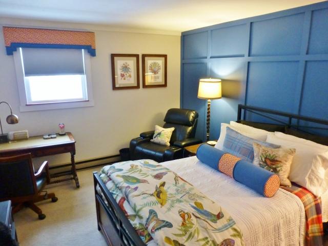The Shack Teen Boys Bedroom Blue White Multi