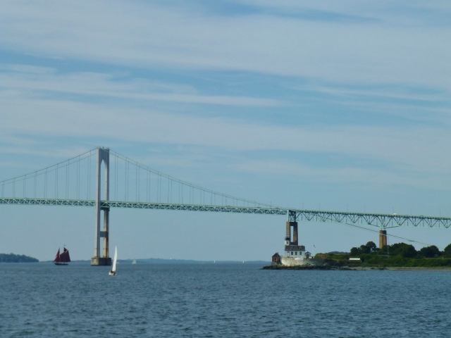 The Newport Bridge