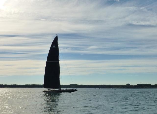 Black Sailboat